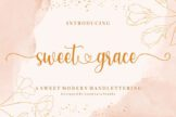 Last preview image of Sweet Grace – with Sweet Swashes