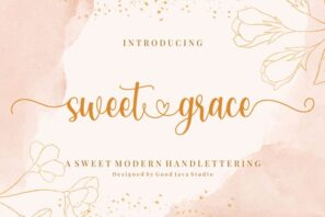 Sweet Grace - with Sweet Swashes