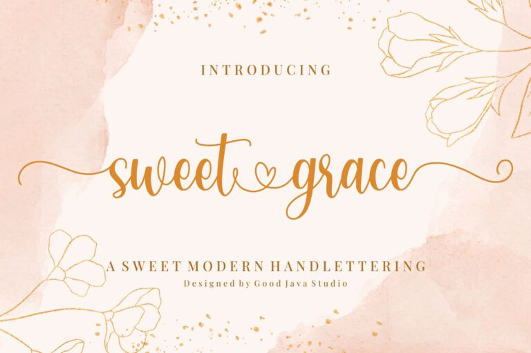 Preview image of Sweet Grace – with Sweet Swashes