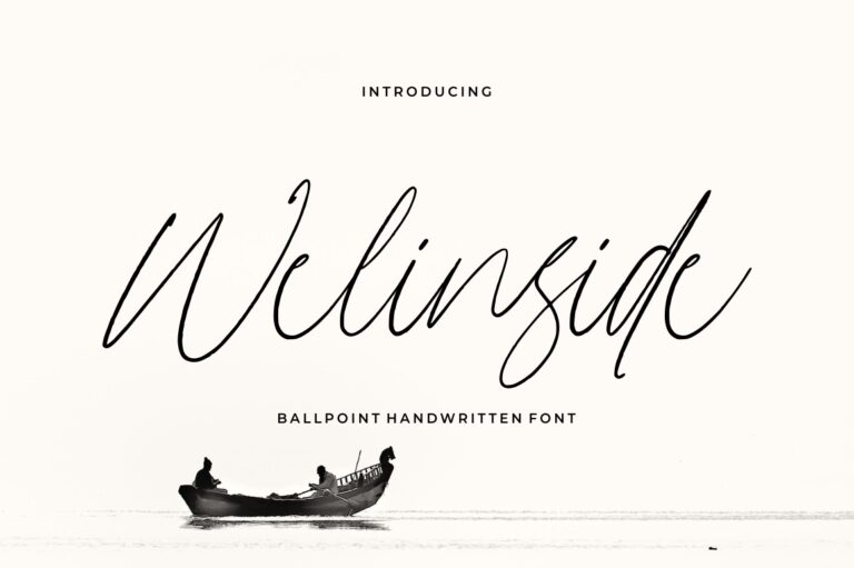 Welinside - Handwritten Font