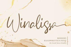 Winalissa - Modern Handwritten