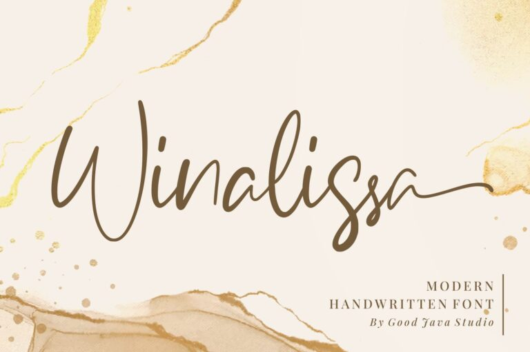 Preview image of Winalissa – Modern Handwritten