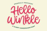 Last preview image of Hello Winkle