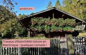 travaıx d'étanchéité toiture en Martinique