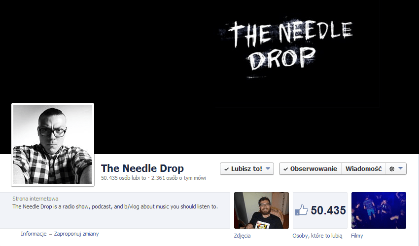 needle drop