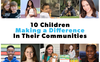 10 Children Making a Difference in Their Communities
