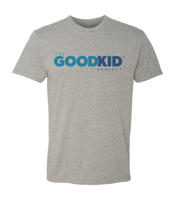 Good Kid Project Adult Gray T-shirt