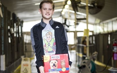 12-Year Old Boy Dedicates His Life to Saving Animals
