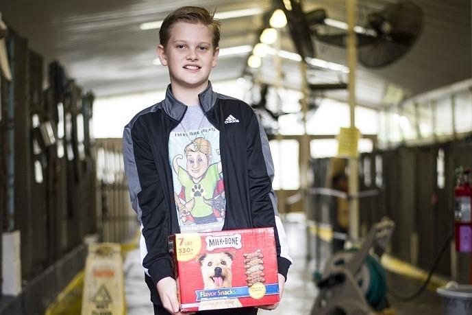 12-Year Old Boy Dedicates His Life to Saving Animals