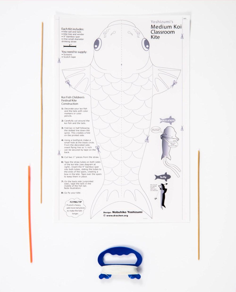 medium resolution of yoshizumi medium koi kit