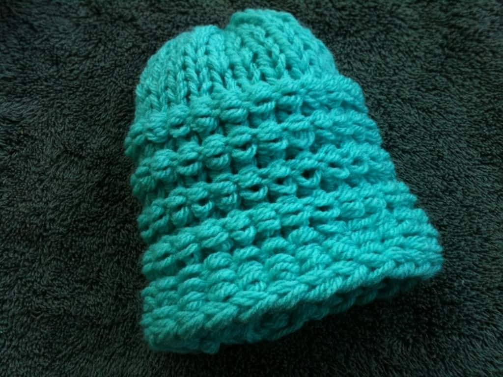 P Purl Stitch Loom Knit Goodknit Kisses