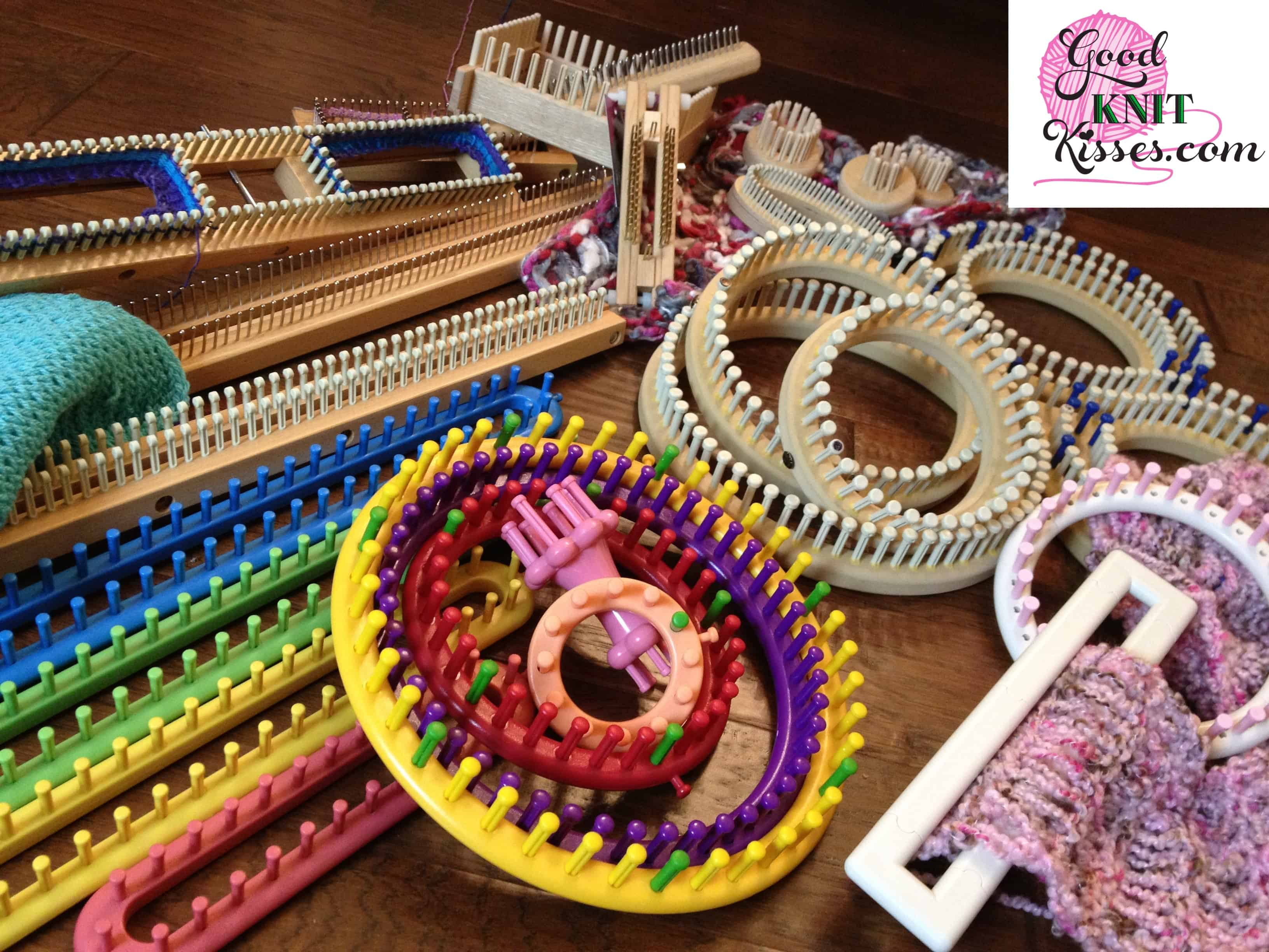 Circle learn loom new stitch