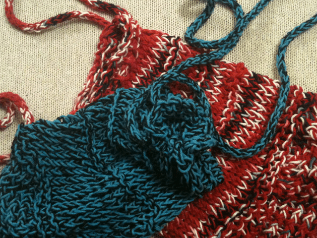 Loom Knit Mesh Bag Pattern Goodknit Kisses