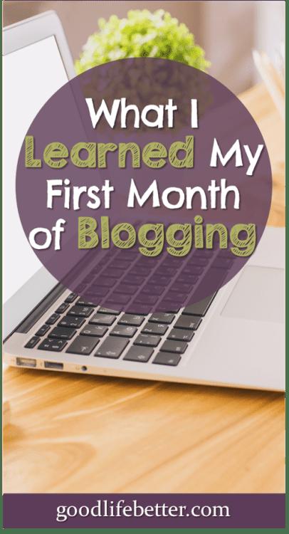 Thinking about starting a blog? My experience was rewarding (if a little manic)! #StartABlog #Blogging #GoodLifeBetter