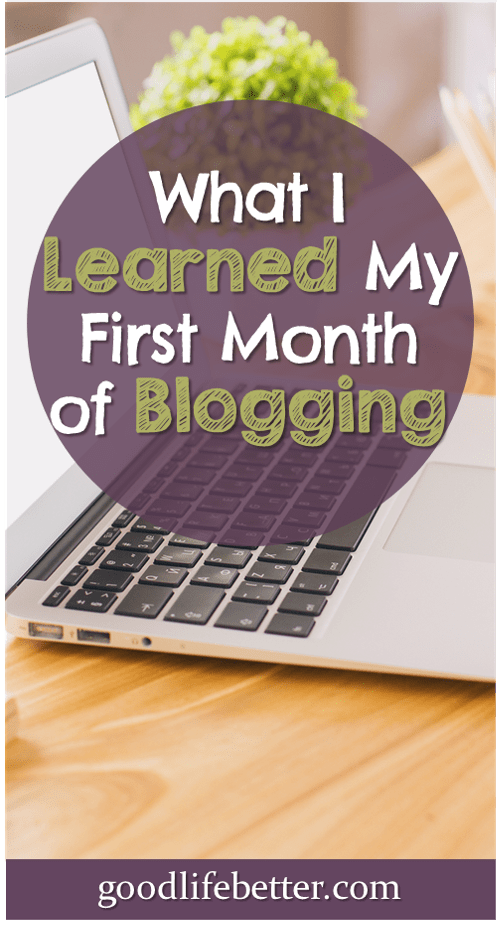 3 words to describe the first 30 days of blogging? Overwhelming, energizing, and fun!