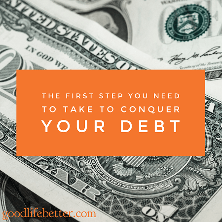 Committing to do whatever it takes to conquer debt is powerful!