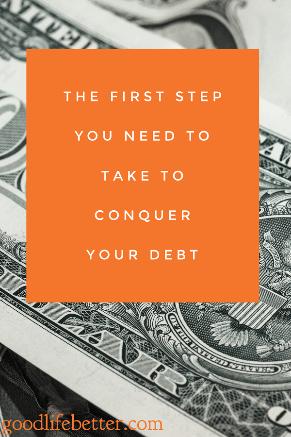 Want to get out of debt?  Unless you commit to doing so, you are going to find it difficult to remain focused.