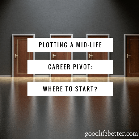 Great advice for someone who want a career refresh instead of a career overhaul.