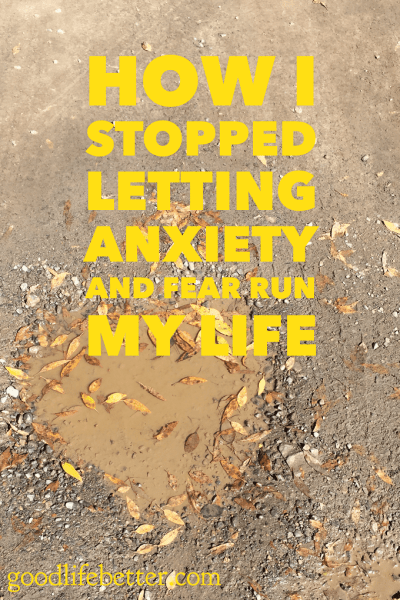How has anxiety affected you? Read my story of living with anxiety and taking control.