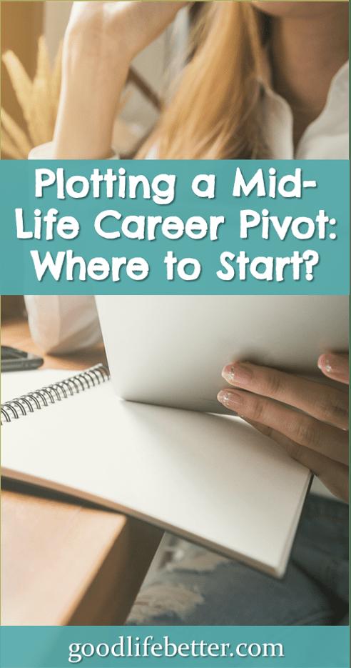 Plotting a Mid-Life Career Pivot: Where to Start?