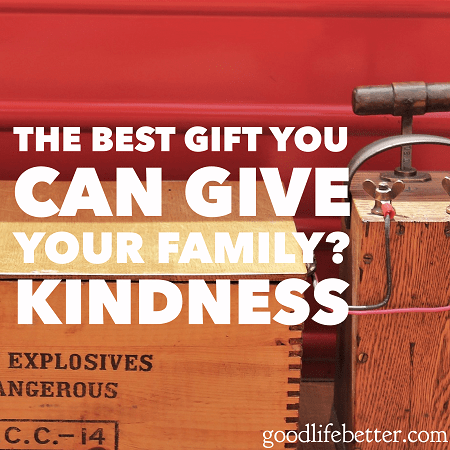 Showing your family acts of kindness is worth more than anything you can buy!