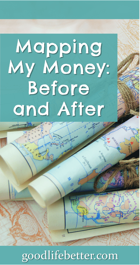 When spreadsheets aren't enough, create a money map to see how your money flows in and out of your life!
