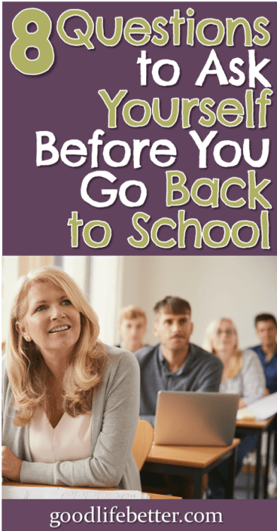 Thinking about grad school? It can cost you a lot with no guaranteed return on that investment. Here are 8 questions to consider. #GraduateSchool #StudentLoans #GoodLifeBetter