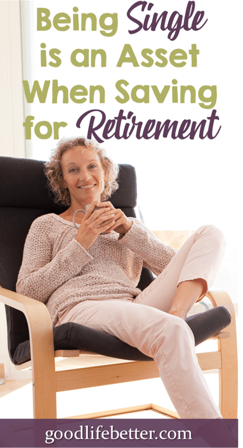 Being Single is an Asset When Saving for Retirement