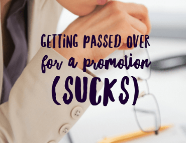 Getting passed over for a promotion can be a punch in the gut. Learn from my experiences to figure out what happened and move on.