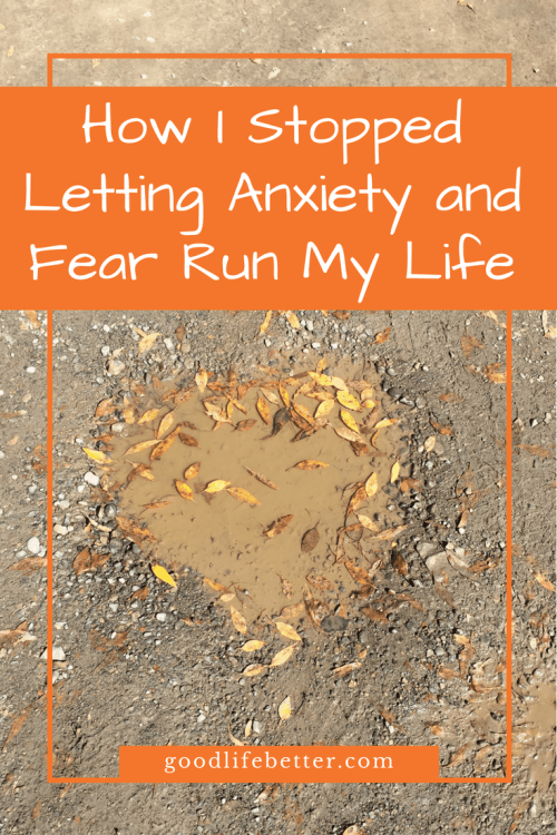 Anxiety used to be a big stumbling block in my life but with hard work, I have been able to control it.