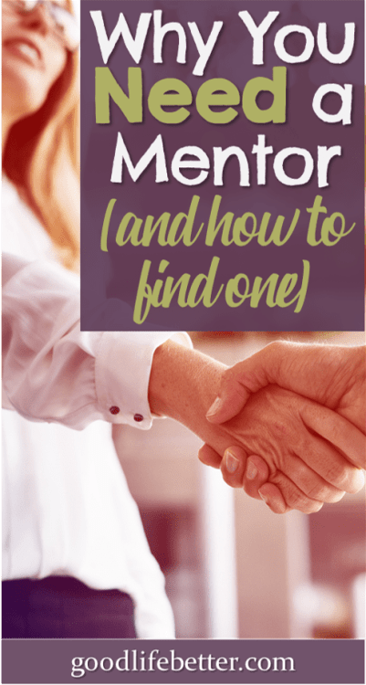 I've had a lot of great mentors over the years—here are some tips for finding a mentor you can learn from! #Mentor #CareerDevelopment #GoodLifeBetter