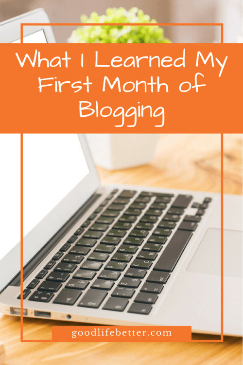 That first month of blogging was absolutely manic--but oh so much fun!