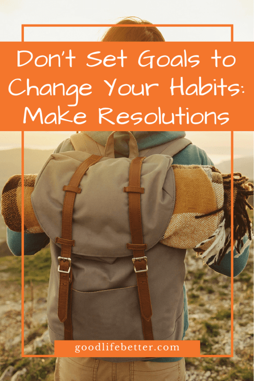 Making resolutions means you have skin in the game--read why here!