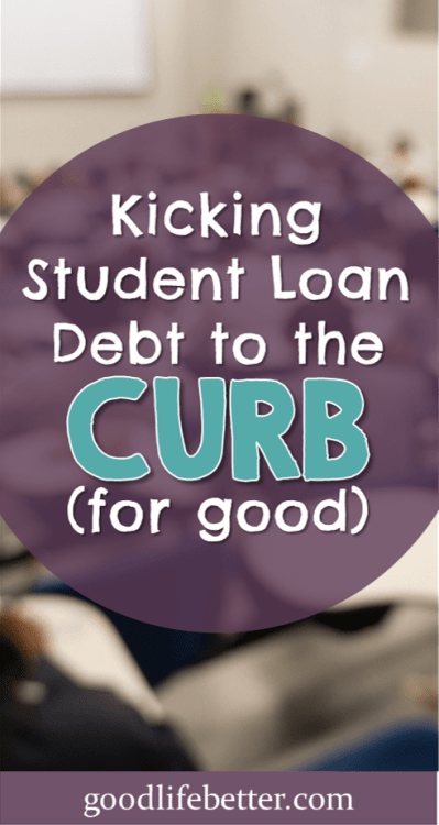 Student loan mistakes happen--but they don't have to keep happening. Here are my tips for overcoming your student loan mistakes! #StudentLoans #DebtPayoff #StudentLoanDebt #GoodLifeBetter