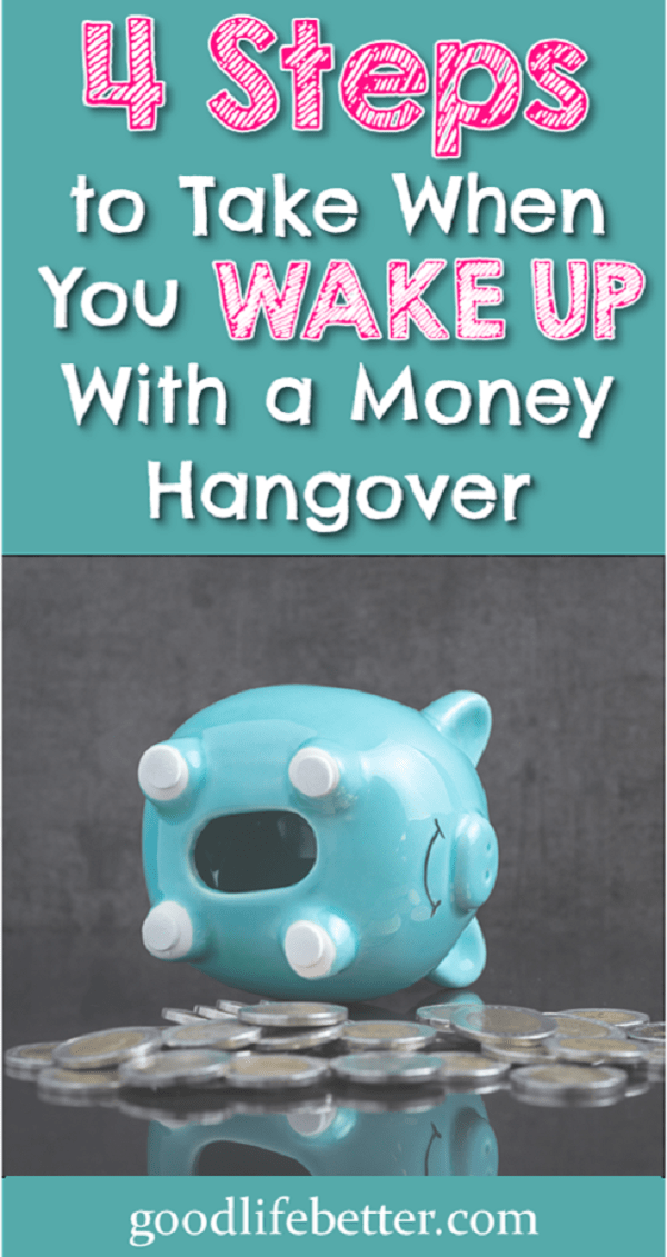 When you reach that point where you are ready to change and no longer deal with money hangovers, here are 4 tips that can help you move forward.
