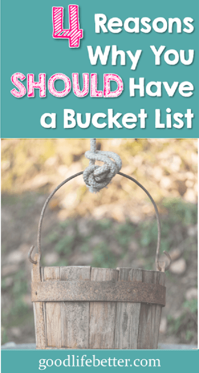 Think you're too cool for a bucket list? Think again. Creating one just might be the thing you need to bring excitement back to your life!