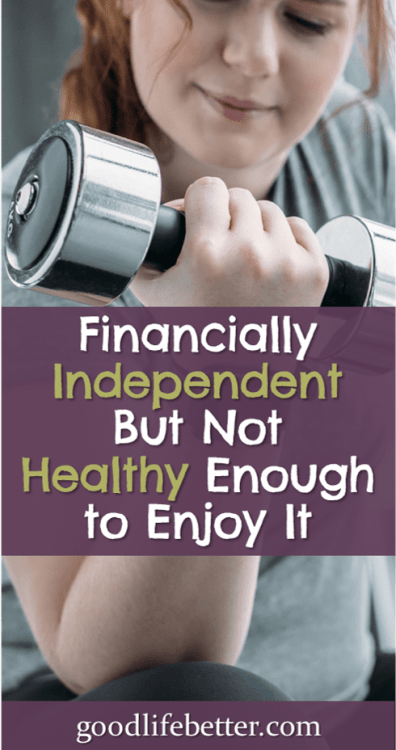 In preparing for retirement, I'm fixing my finances but I still need to work on my health. Click to read my plan! #RetirementPlanning #GoodLifeBetter