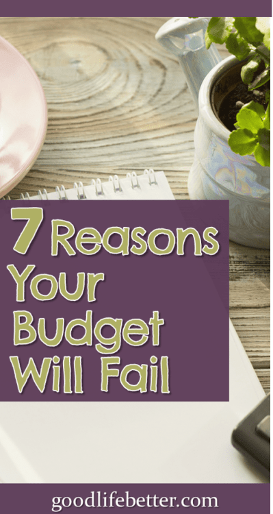 Do you struggle with budgeting? I used to as well but with a lot of hard work and self-reflection, I figured out what was standing in my way. Now I'm debt free and fully funding my retirement accounts. Click to learn how! #Budgets #ManagingMoney #GoodLifeBetter