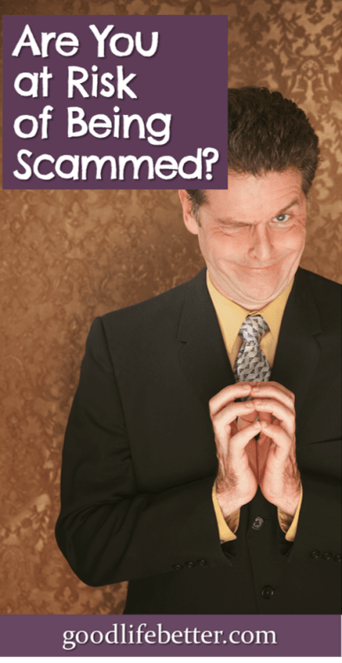 Creepy looking sales guy Money Scams and Scammers