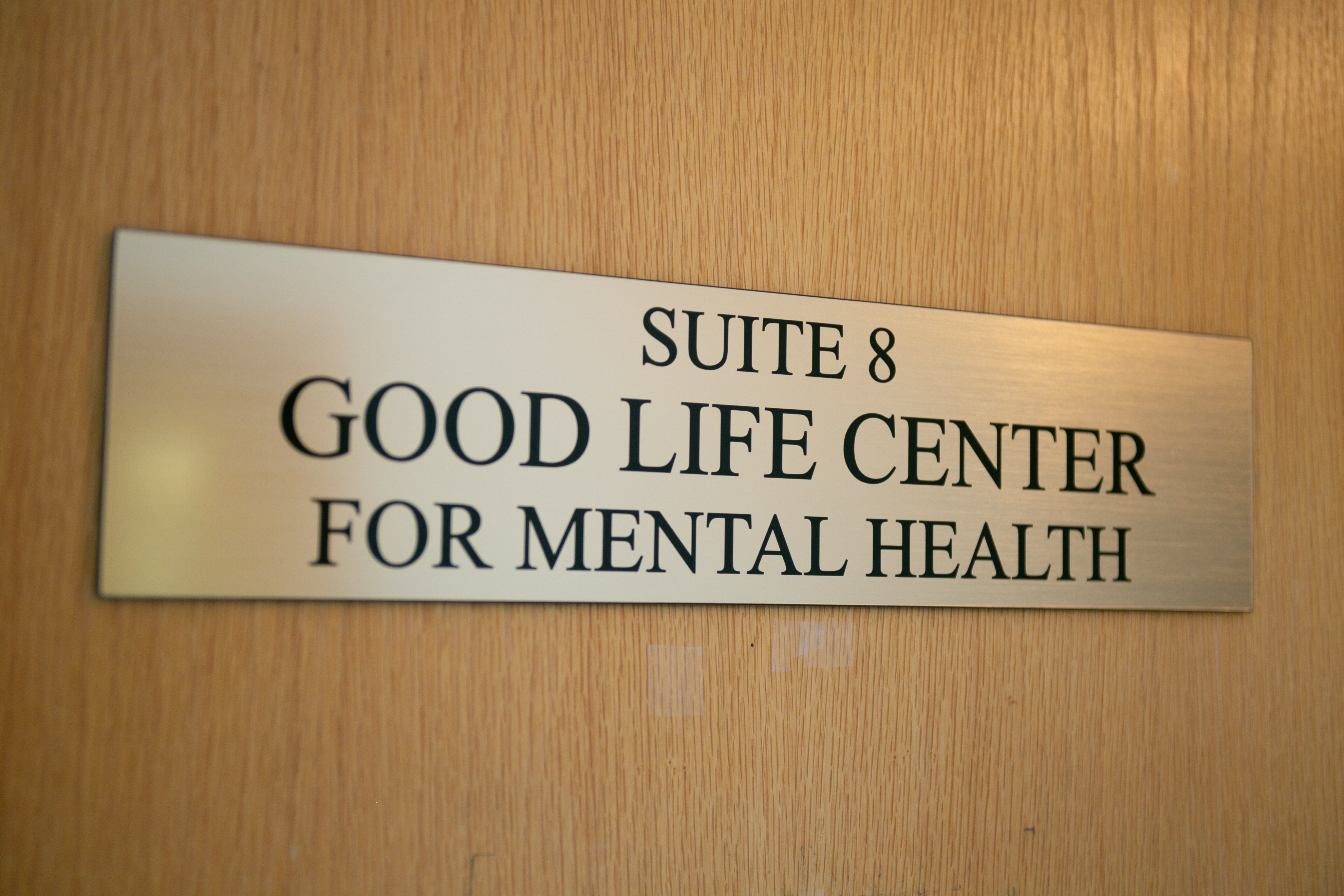 Suite 8 Sign | Our Office | Good Life Center | Therapy Services in Cranford, NJ | 07016