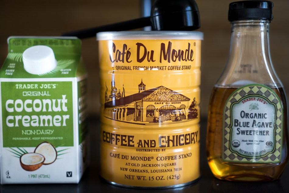 Vietnamese Coffee Ingredients