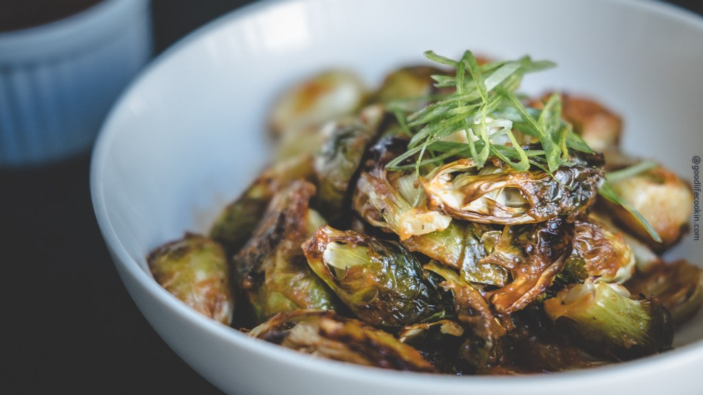 BBQ Brussel Sprouts