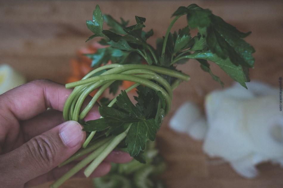 parsley bunch