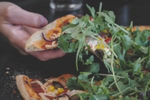 Hot Italian Vegan Pizza With Daiya Cheese