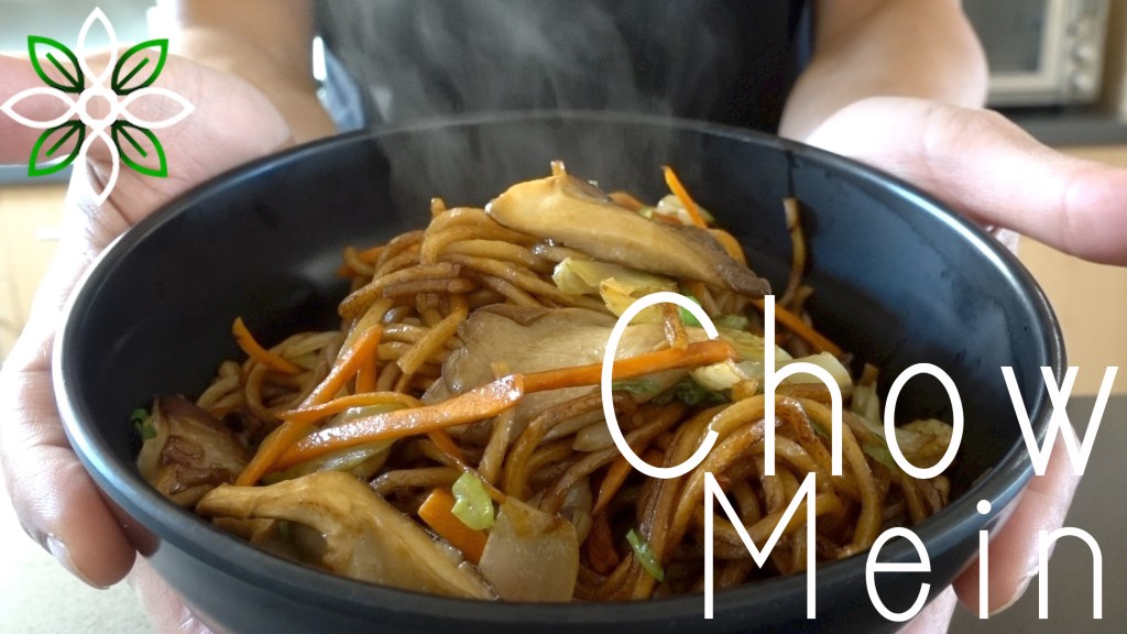 Chow Mein With Oyster Mushrooms
