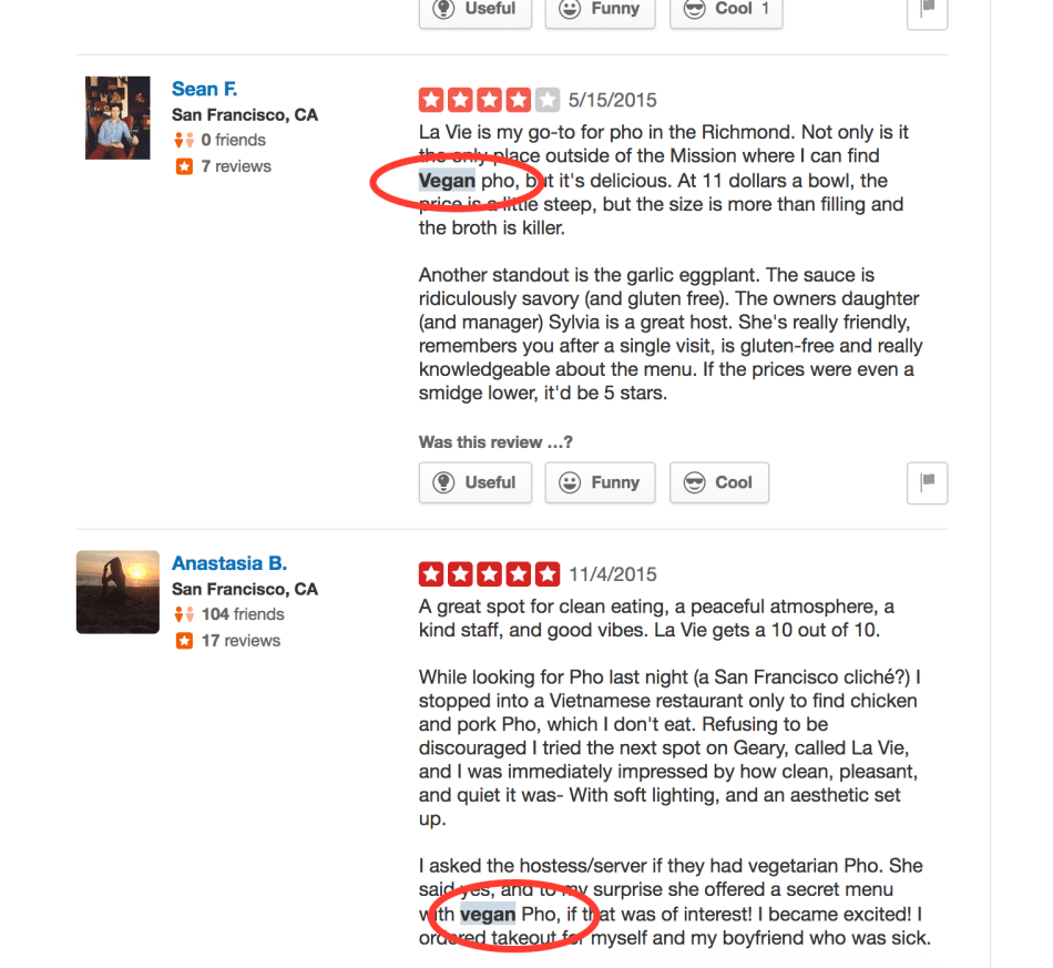 Yelp Review Search
