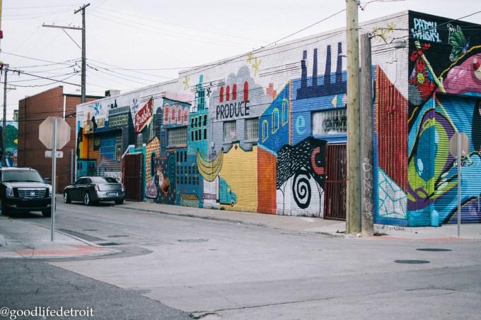 Eastern Market Murals