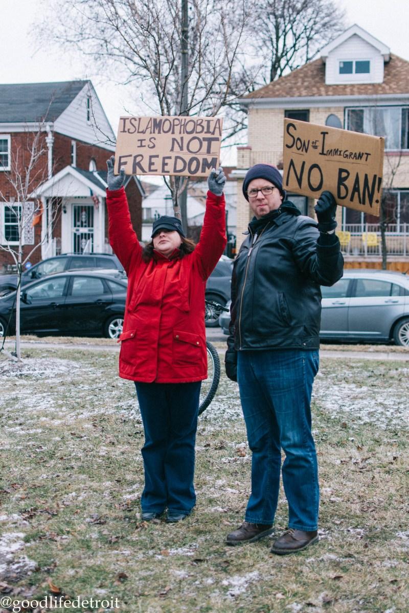 Hamtramck Peaceful Protest