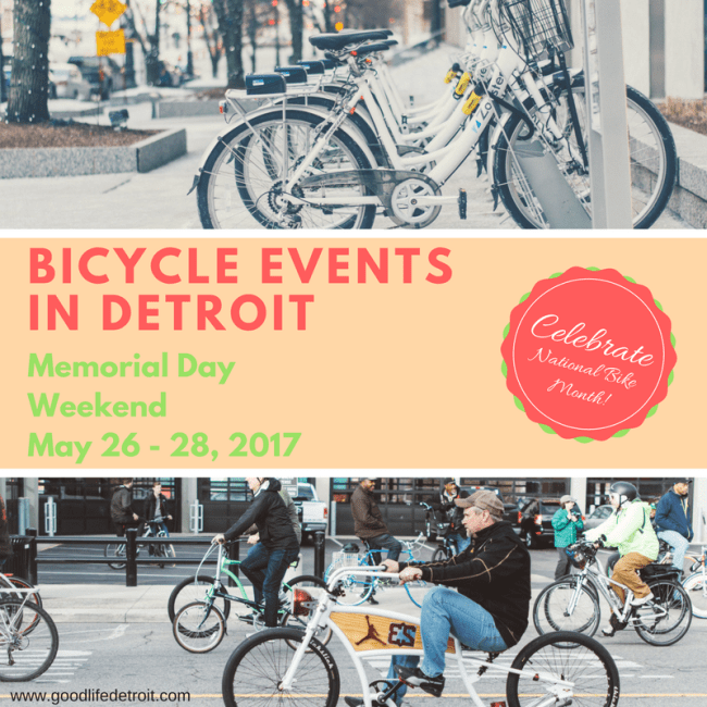 celebrate national bike month in detroit