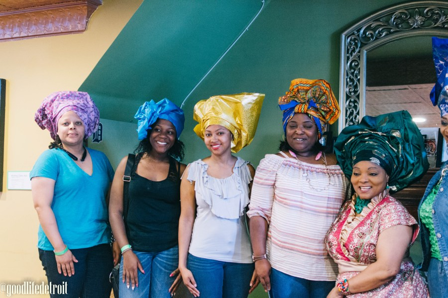 We Rock Dope Hair in Detroit, Michigan featured many natural hair care vendors who sold various products such as cosmetics, natural hair products, African clothing, and beautiful African American art.